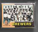 1975 Topps EX-EX+ MILWAUKEE BREWERS Team Set (Yount VG+)