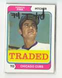 1974 TOPPS TRADED - CHICAGO CUBS Team Set