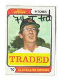 1974 TOPPS TRADED - CLEVELAND INDIANS Team Set