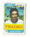 1974 TOPPS TRADED - KANSAS CITY ROYALS Team Set