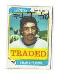 1974 TOPPS TRADED - KANSAS CITY ROYALS Team Set