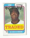 1974 TOPPS TRADED - LOS ANGELES DODGERS Team Set