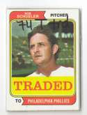 1974 TOPPS TRADED - PHILADELPHIA PHILLIES Team Set