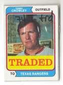 1974 TOPPS TRADED - TEXAS RANGERS Team Set