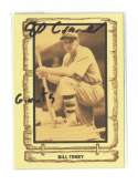 1980 Cramer Baseball Legends - SAN FRANCISCO GIANTS