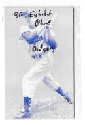 1980 Exhibit Blue Tint - LOS ANGELES DODGERS Team Set
