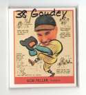 1938 Goudey Heads Up Reprints - CLEVELAND INDIANS Team Set