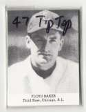 1947 TIP TOP BREAD Reprints - CHICAGO WHITE SOX Team Set
