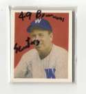 1949 Bowman Reprints - WASHINGTON SENATORS (TWINS) Team Set