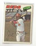 1977 Topps Cloth Stickers - CINCINNATI REDS Team Set