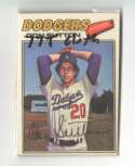 1977 Topps Cloth Stickers - LOS ANGELES DODGERS Team Set