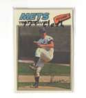 1977 Topps Cloth Stickers - NEW YORK METS Team Set