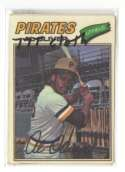 1977 Topps Cloth Stickers - PITTSBURGH PIRATES Team Set