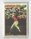 1977 Topps Cloth Stickers - BALTIMORE ORIOLES Team Set