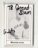 1978 GRAND SLAM - NEW YORK / SAN FRANCISCO GIANTS Team Set