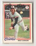 1978 O-PEE-CHEE (OPC) - BALTIMORE ORIOLES Team Set W/ EDDIE MURRAY RC