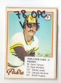 1978 O-PEE-CHEE (OPC) (VG-VG+) - SAN DIEGO PADRES Team Set