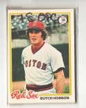 1978 O-PEE-CHEE (OPC) - BOSTON RED SOX Team Set
