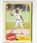 1981 O-Pee-Chee (OPC) - ST LOUIS CARDINALS Team Set