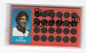 1981 Topps Scratchoff - BALTIMORE ORIOLES Team Set