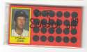 1981 Topps Scratchoff - NEW YORK YANKEES Team Set