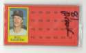 1981 Topps ScratchOff Proofs - BOSTON RED SOX Team Set