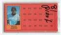 1981 Topps ScratchOff Proofs - KANSAS CITY ROYALS Team Set