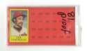 1981 Topps ScratchOff Proofs - MINNESOTA TWINS Team Set