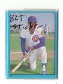 1982 Topps Stickers - CHICAGO CUBS Team Set