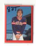 1982 Topps Stickers - CLEVELAND INDIANS Team Set