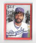1982 Topps Stickers - KANSAS CITY ROYALS Team Set