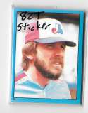 1982 Topps Stickers - MONTREAL EXPOS Team Set