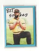 1982 Topps Stickers - PITTSBURGH PIRATES Team Set