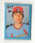 1982 Topps Stickers - ST LOUIS CARDINALS Team Set