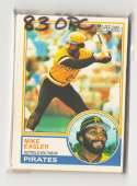 1983 O-PEE-CHEE (OPC) - PITTSBURGH PIRATES Team Set