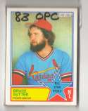 1983 O-PEE-CHEE (OPC) - ST LOUIS CARDINALS Team Set
