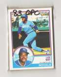 1983 O-PEE-CHEE (OPC) - KANSAS CITY ROYALS Team Set