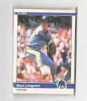 1984 Fleer Update - SEATTLE MARINERS Team Set