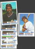 1982 Topps Traded - CALIFORNIA ANGELS Team set w/o Reggie