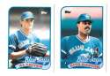 1989 Topps Traded TIFFANY - TORONTO BLUE JAYS Team Set