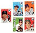 1954 TOPPS ARCHIVES - NEW YORK YANKEES Team Set w/ MICKEY MANTLE