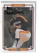 1984 Donruss Champions (3x5) - HOUSTON ASTROS
