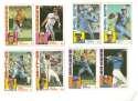 1984 Topps Traded Regular and Tiffany - TORONTO BLUE JAYS Team Set