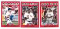 2008 Topps Opening Day - BOSTON RED SOX Team Set