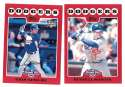 2008 Topps Opening Day - LOS ANGELES DODGERS Team Set