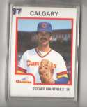 1987 ProCards Minor League Team Set - Calgary Cannons (Mariners)