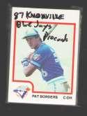 1987 ProCards Minor League Team Set - Knoxville BLUE JAYS