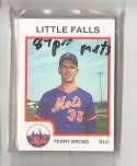 1987 ProCards Minor League Team Set - Little Falls METS