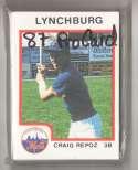 1987 ProCards Minor League Team Set - Lynchburg METS