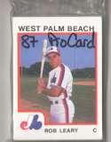 1987 ProCards Minor League Team Set - West Palm Beach EXPOS